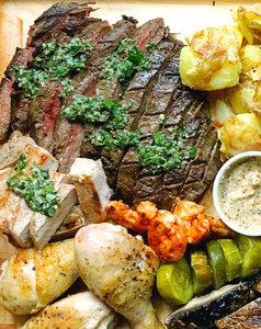 Mixed grill vlees (min. 2 pers)