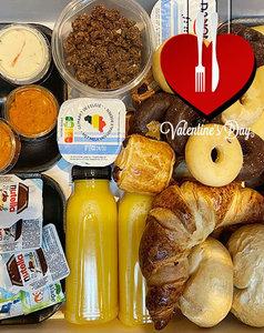 Valentine's luxe ontbijtbox