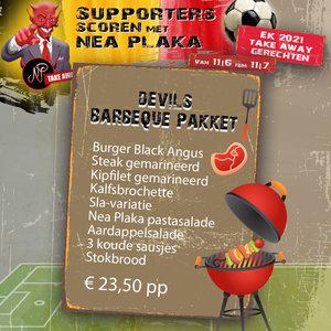 EK food Devils BBQ pakket