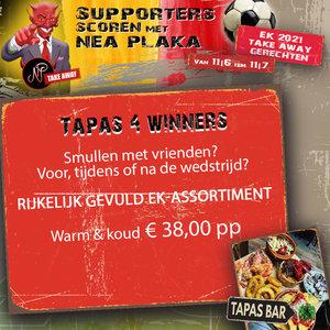 EK food Tapas 4 winners warm & koud