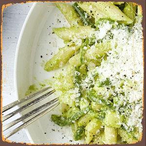 Pasta pesto (veggie)