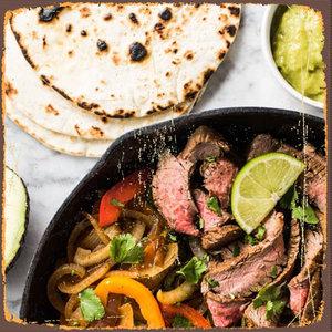 Sillie's Fajita met steak